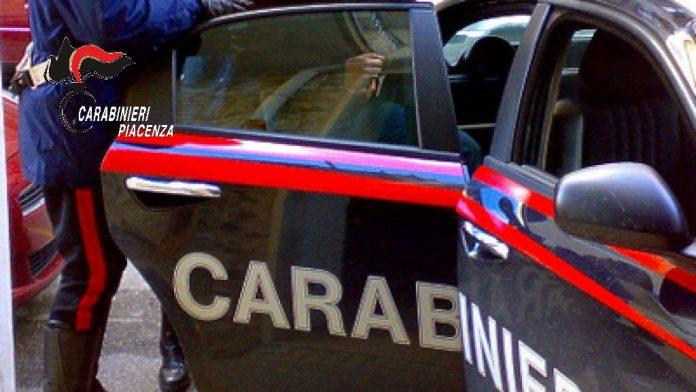 Carabinieri Piacenza arresto