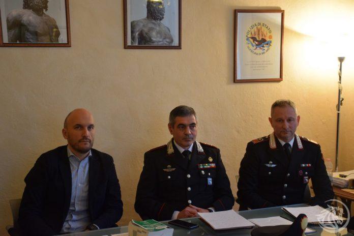 Conferenza stampa alla procura di Piacenza per maltrattamenti alla scuola materna di San Polo