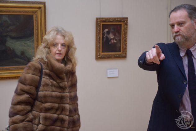 Il pm Ornella Chicca con il direttore Massimo Ferrari
