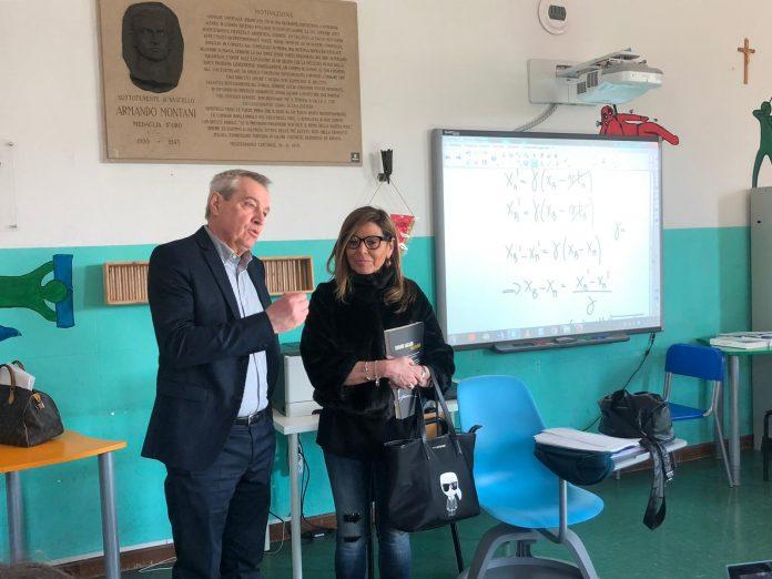 i sindaco Patrizia barbieri e Mario Magnelli