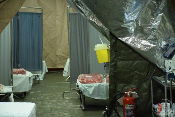 Ospedale di Piacenza Postazione Medica avanzata ospedale di Piacenza per Coronavirus
