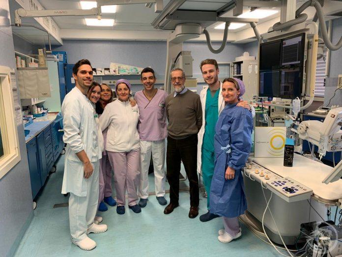 A Piacenza utilizzata una nuova tecnica: la litotrissia coronarica