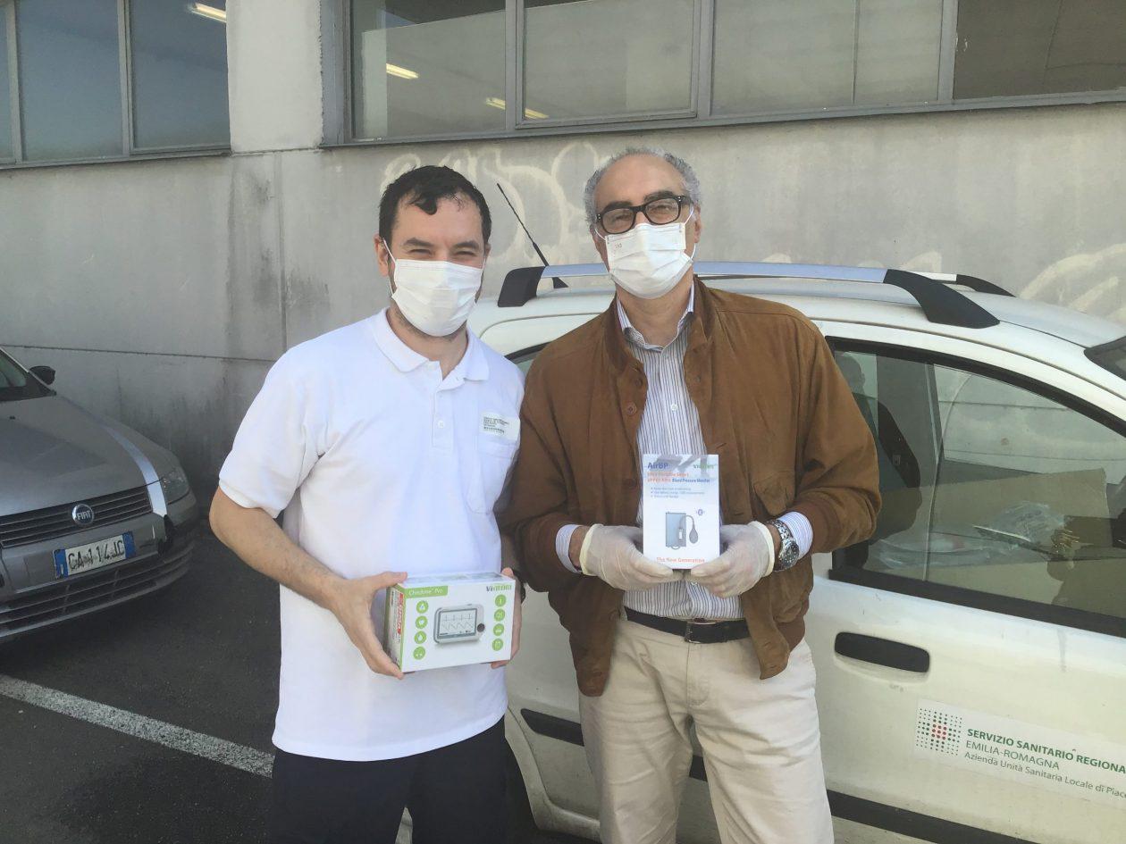 Siram Veolia dona all'Azienda Sanitaria 4 sistemi di monitoraggio a supporto delle Usca