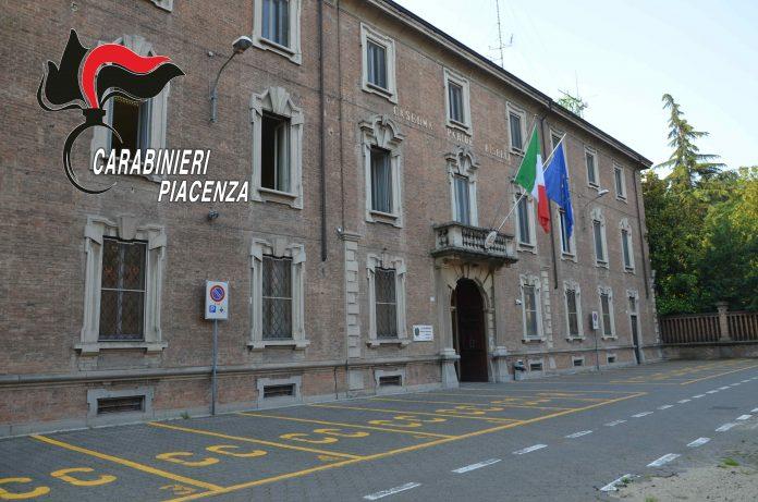Caserma carabinieri Piacenza