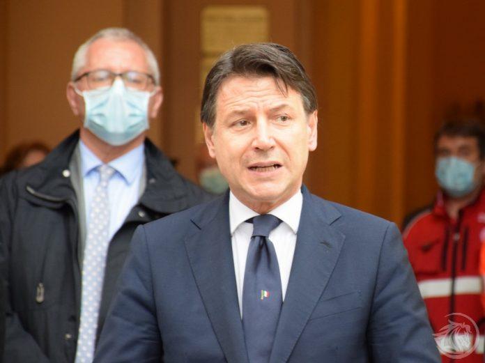 Giuseppe Conte a Piacenza