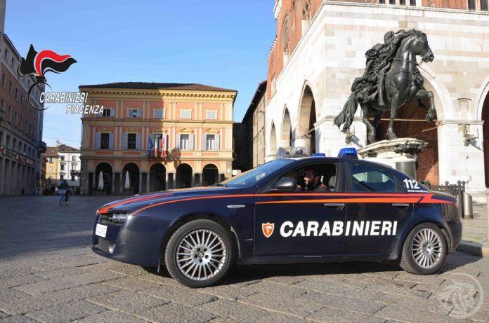 Carabinieri Piazza Cavalli