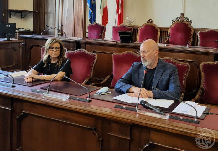 Ptrizia Barbieri e Stefano Bonaccini