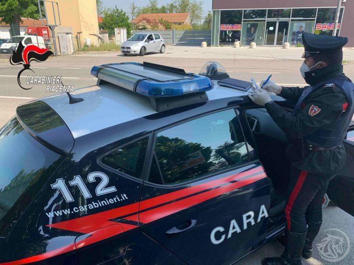 Carabinieri Piacenza Radiomobile