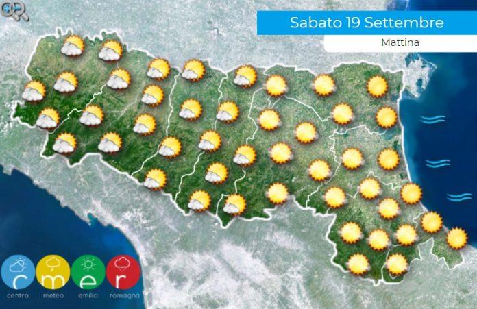 Previsioni meteo Emilia Romagna 19 settembre
