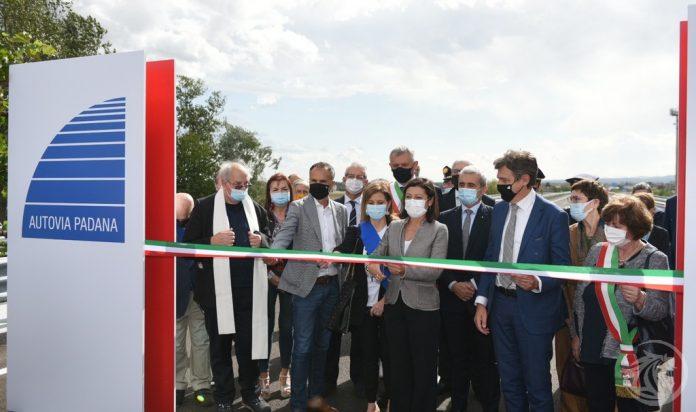 Inaugurazione tangenziale San Giorgio Piacentino