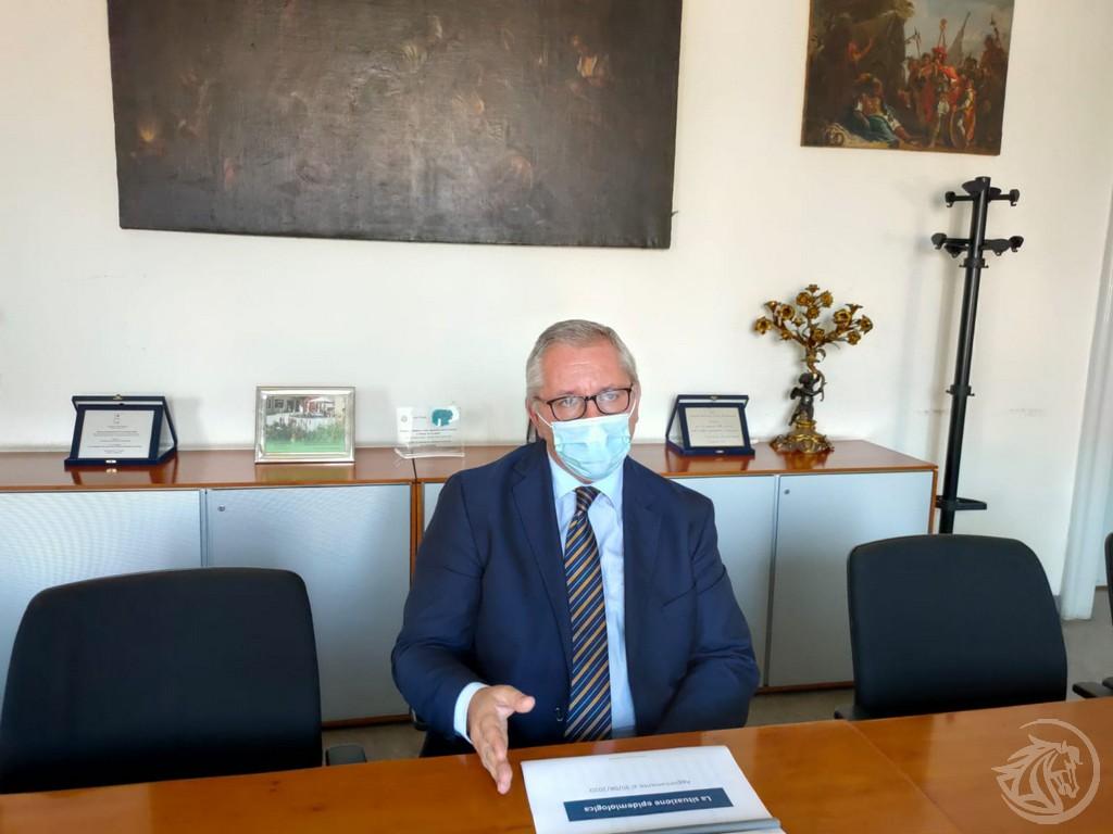 Il direttore generale Ausl Luca Baldino