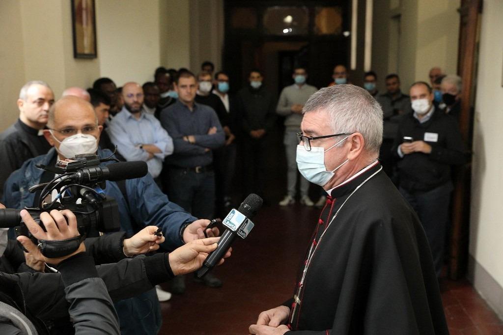 Monsignor Adriano Cevolotto vescovo di Piacenza