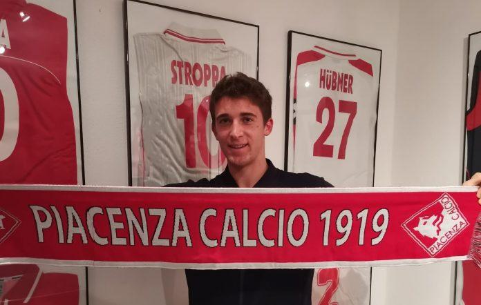 Marco ballarini al Piacenza calcio