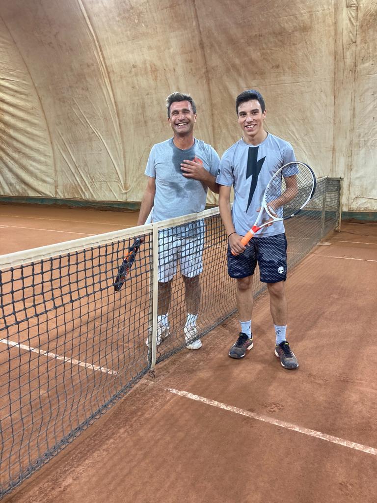 Nella foto Emanuele Bassi a sinistra e Roberto Frontoni