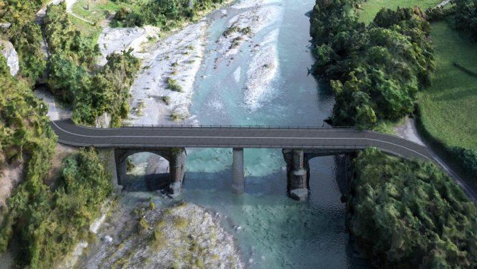 Progetto nuovo ponte Lenzino