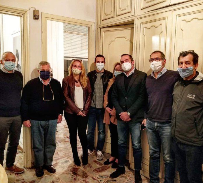 Il direttivo del partito di Calenda a Piacenza