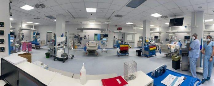 Nuovo reparto terapia intensiva ospedle Piacenza