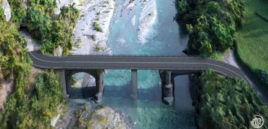 Rendering ponte defintivo