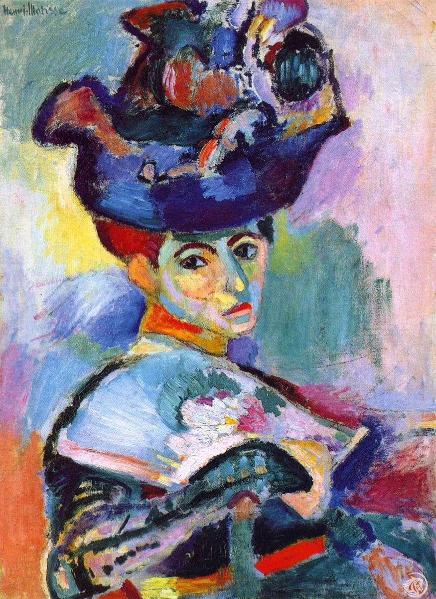 Un dipinto di Henri Matisse, rappresentante dell'Espressionismo francese
