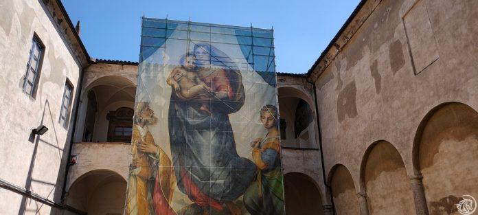 Salita all'appartamento dell'abate in San Sisto a Piacenza