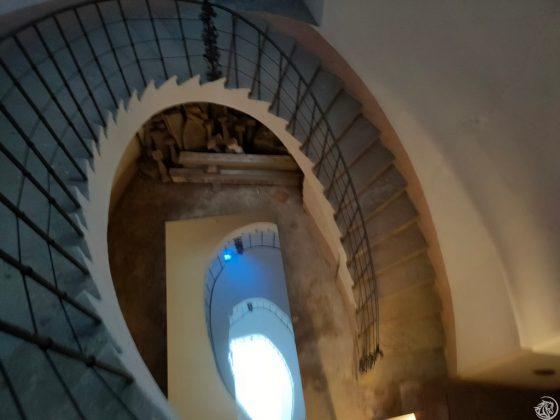 La scala elicoidale detta Lumaca dai monaci
