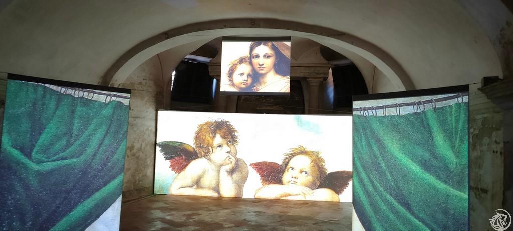 Madonna Sistina in 3D