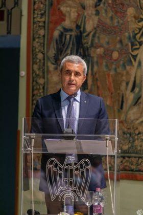Il presidente Francesco Rolleri