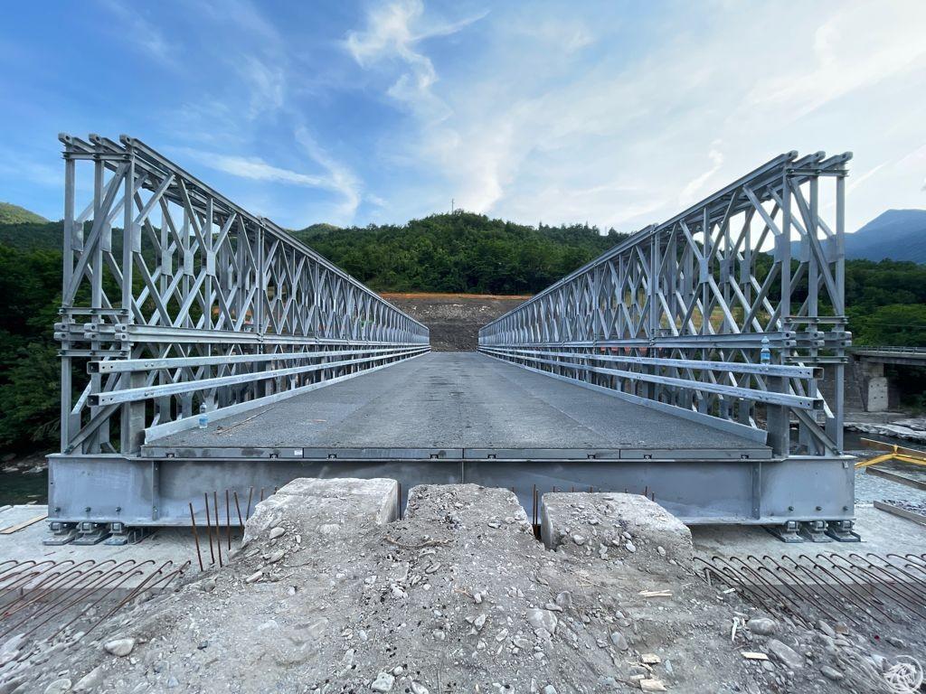 Ponte provvisorio Lenzino 1