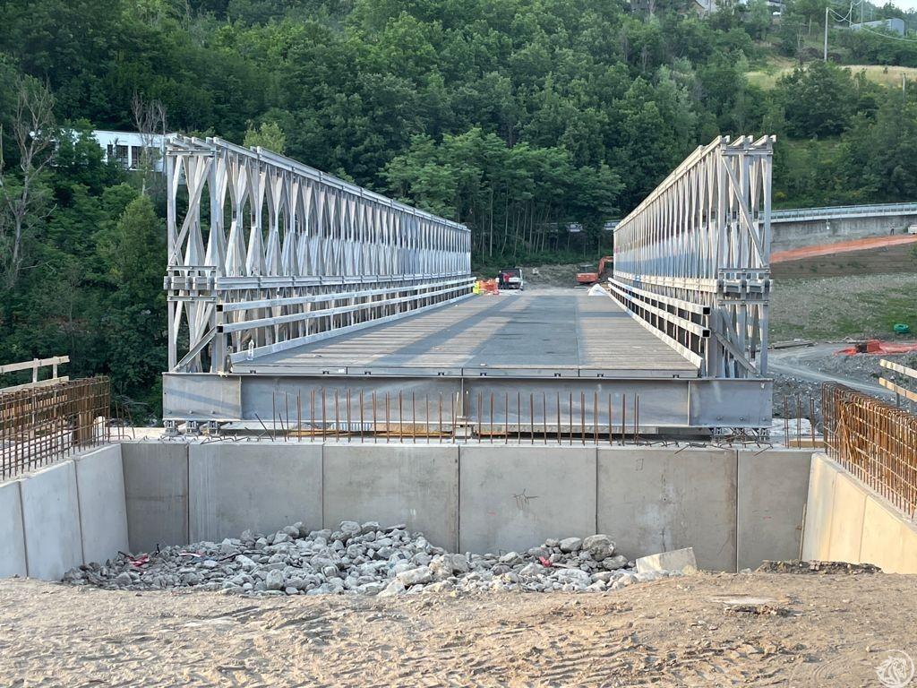 Ponte provvisorio Lenzino 2
