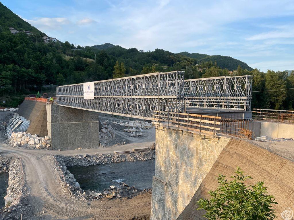 Ponte provvisorio Lenzino 3