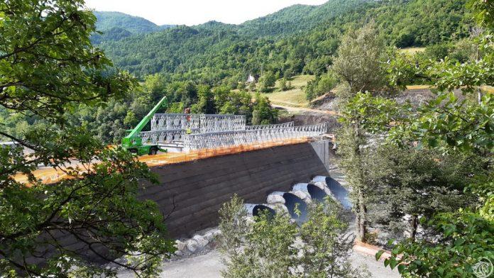 Ponte provvisorio Lenzino