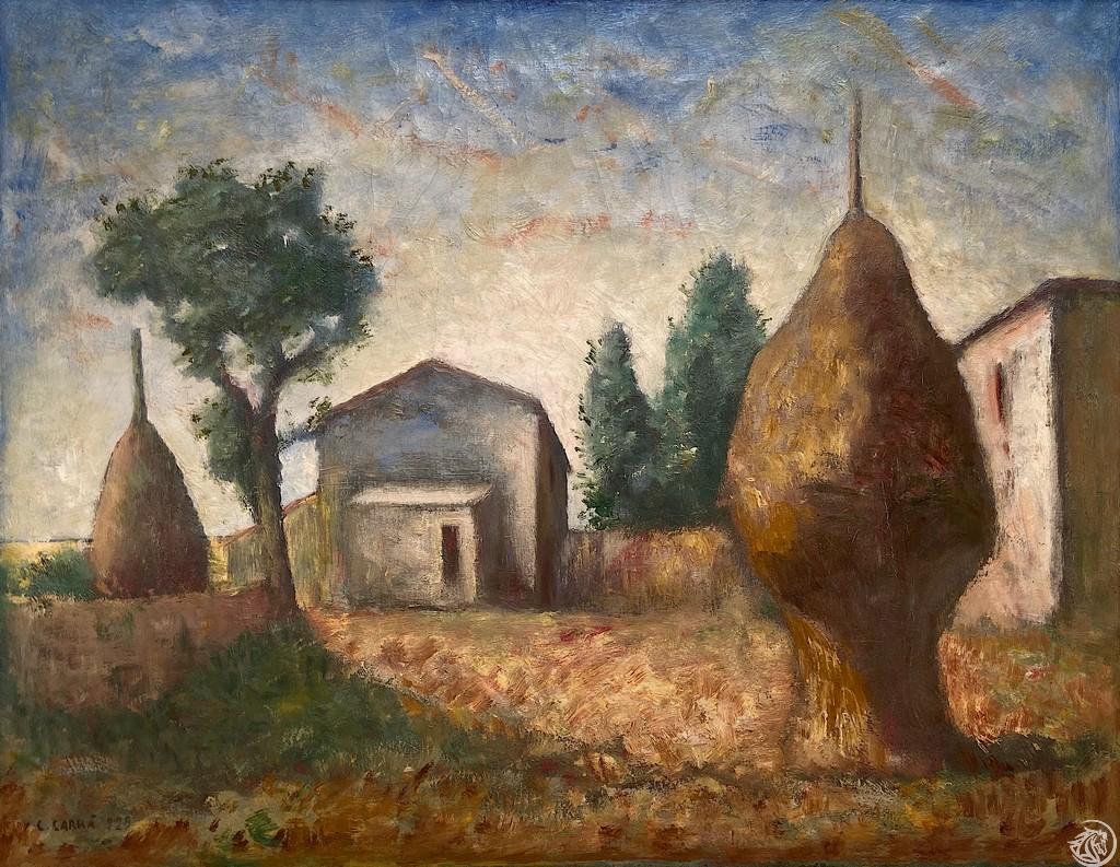 GRO_Carlo Carrà_I Pagliai_1929